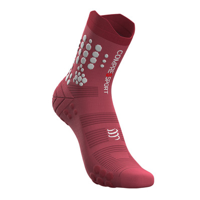 COMPRESSPORT - PRO RACING V3.0 TRAIL - Calcetines garnet rose