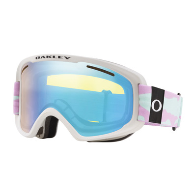 OAKLEY - O FRAME 2.0 PRO XM - Masque ski lavender camo/hi yellow iridium + dark grey