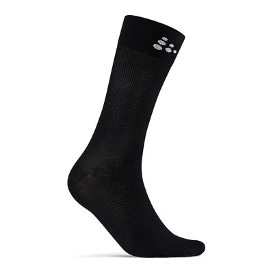 CRAFT - CORE ENDURE BIKE SOCK BLACK/WH Unisexe BLACK/WHITE