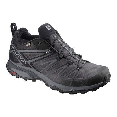 SALOMON - X ULTRA 3 WIDE GTX - Hiking Shoes - Men's - black/magnet/quiet shade