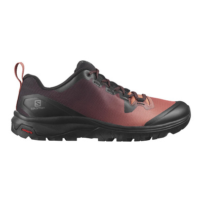 SALOMON - VAYA - Hiking Shoes - Women's - black/cedar wood/black