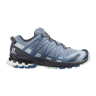 SALOMON - XA PRO 3D V8 - Hiking Shoes - Women's - ashley blue/ebony/opal blue