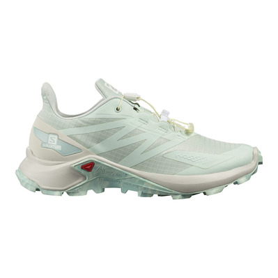 SALOMON - SUPERCROSS BLAST - Trail Shoes - Women's - opal blue/lunar rock/pastel turquoise