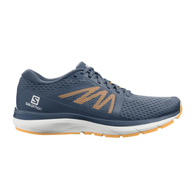 SALOMON - VECTUR - Chaussures running Homme dark denim/wht/warm apricot
