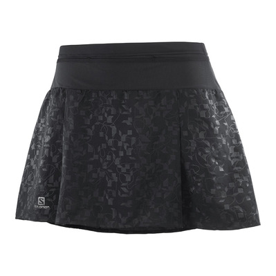 SALOMON - XA - Gonna-short Donna black