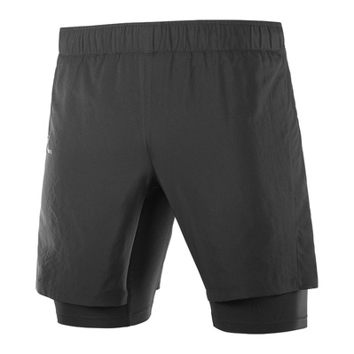 SALOMON - XA TWINSKIN - Shorts - Men's - black