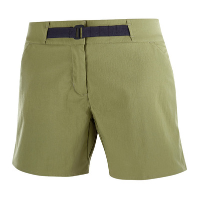 SALOMON - OUTRACK - Short Femme martini olive