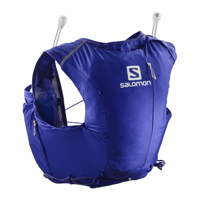 SALOMON - ADV SKIN 8L - Sac d'hydratation Femme blue/alloy