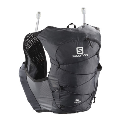 SALOMON - ACTIVE SKIN 8L - Sac d'hydratation Femme ebony/black