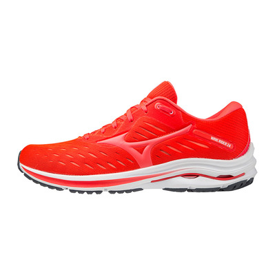MIZUNO - WAVE RIDER 24 - Chaussures running Homme ignition red/fiery coral 2