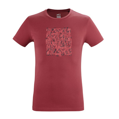 MILLET - SCRIPT - T-Shirt - Men's - tibetan red