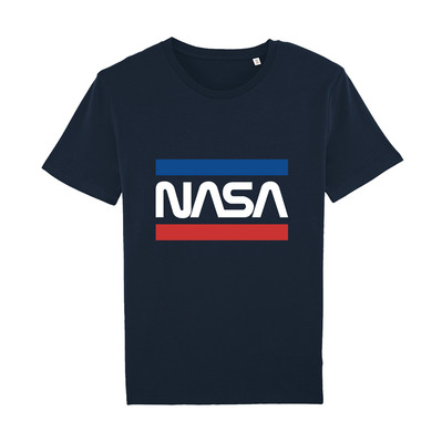 NASA - WORMSTRIPES - T-Shirt - navy