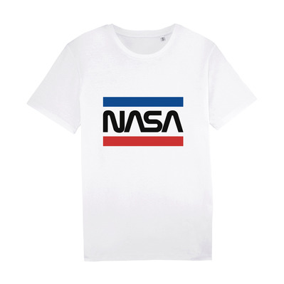 NASA - WORMSTRIPES - T-Shirt - white