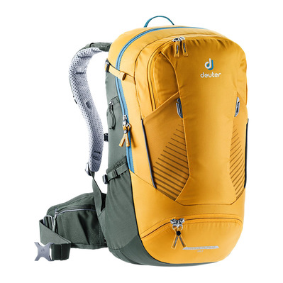 DEUTER - TRANS ALPINE 30L - Sac à dos curry/lierre