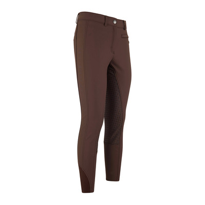 HV POLO - LAUREL - Pantalon fond de peau siliconé Femme dark brown