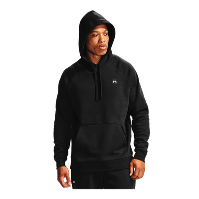 UNDER ARMOUR - RIVAL FLEECE - Sweat Homme black