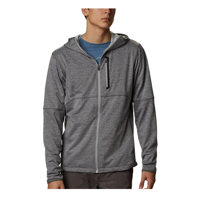 COLUMBIA - TECH TRAIL FZ - Sweat Homme city grey heath