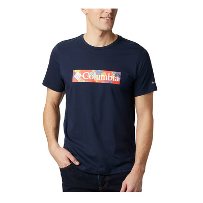 COLUMBIA - RAPID RIDGE - Tee-shirt Homme collegiate navy