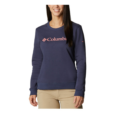 COLUMBIA - LOGO CREW - Sweat Femme nocturnal