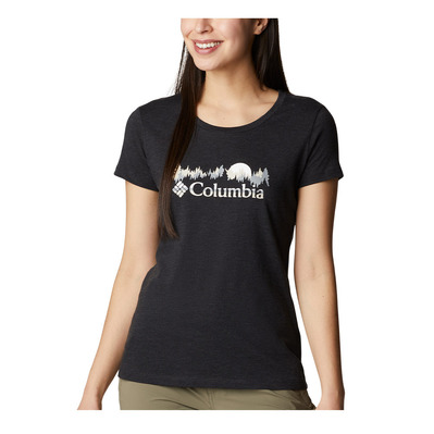 COLUMBIA - DAISY DAYS - Tee-shirt Femme black heather