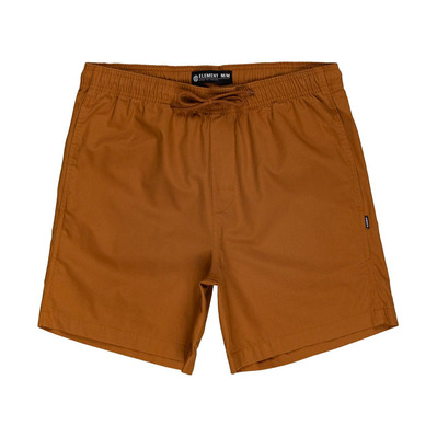 "ELEMENT - VACATION 17"" - Short Homme gold brown"