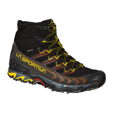 LA SPORTIVA - ULTRA RAPTOR II MID GTX - Chaussures randonnée Homme black/yellow