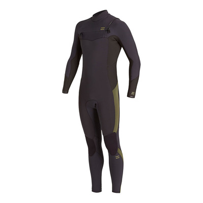 BILLABONG - ABSOLUTE CZ GBS - Muta integrale 3/2mm Uomo antique black