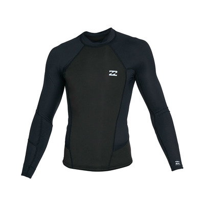 BILLABONG - ABSOLUTE POLY LITE - Top in neoprene Uomo black heather