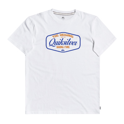 QUIKSILVER - CUT TO NOW - Tee-shirt Homme white