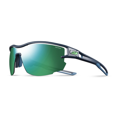 JULBO - AERO - Lunettes de soleil dark blue/blue/green/smoke multilayer green