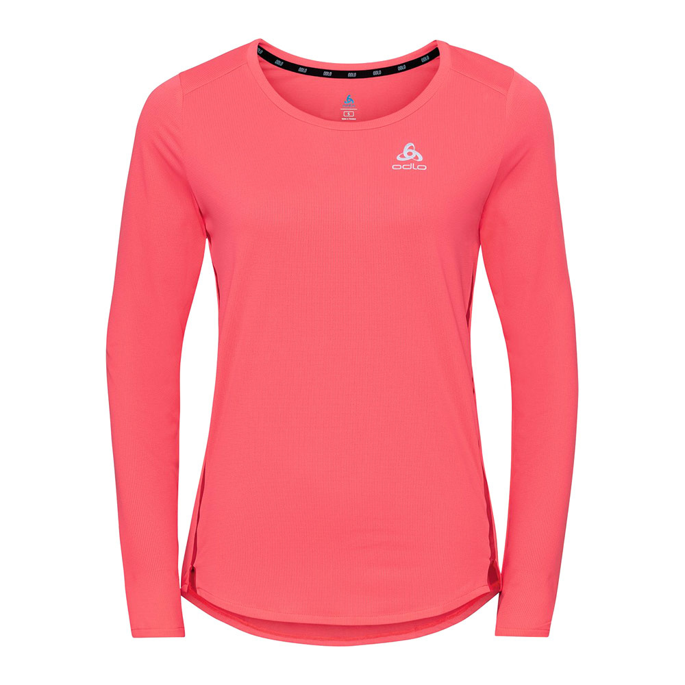 ODLO - T-shirt l/s crew neck ZEROWEIGHT CHILL-T Femme siesta