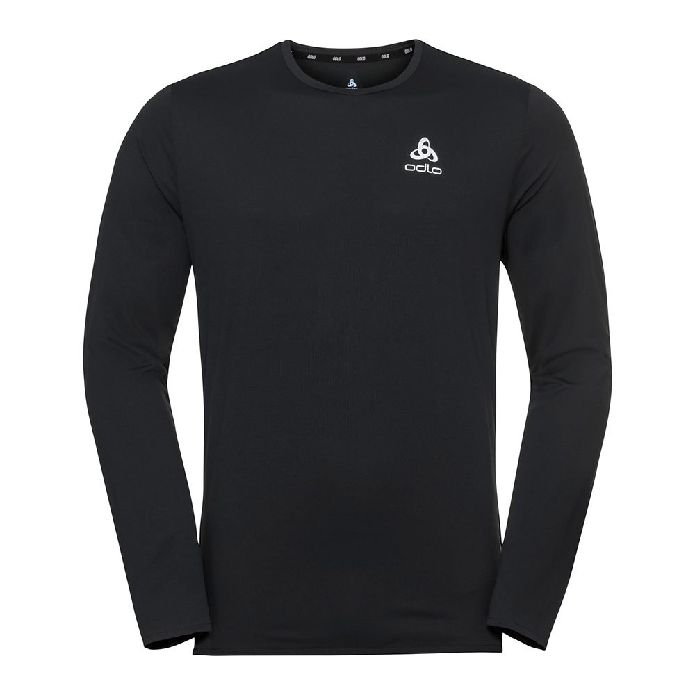 ODLO - T-shirt l/s crew neck ZEROWEIGHT CHILL-T Homme black
