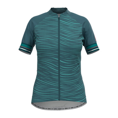 ODLO - ZEROWEIGHT CERAMICOOL PRO - Maillot Femme balsam/graphic ss21