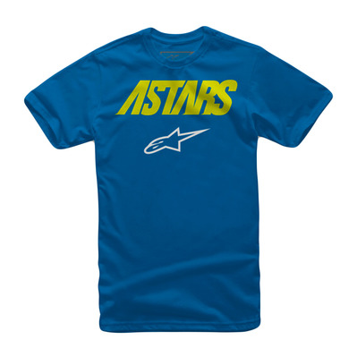 ALPINESTARS - ANGLE COMBO - Tee-shirt Junior royal blue
