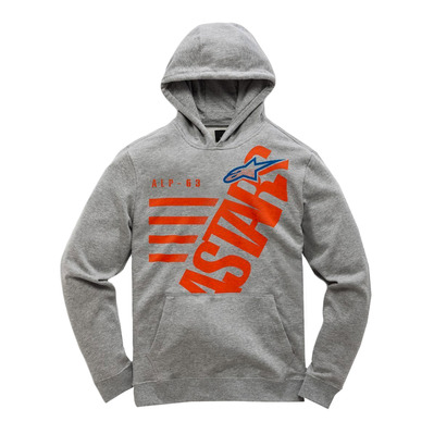 ALPINESTARS - BIGUN - Sweat Junior grey heather