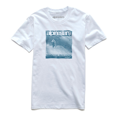 ALPINESTARS - SOLITUDE - Tee-shirt Homme white