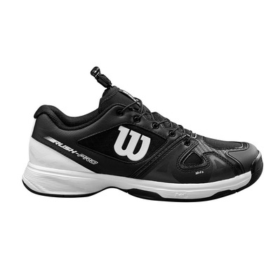 WILSON - RUSH PRO - Chaussures tennis Junior black white black