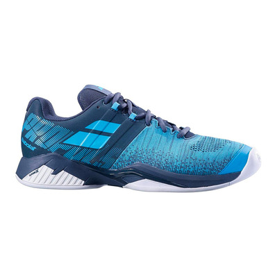 BABOLAT - PROPULSE BLAST INDOOR 2019 - Chaussures tennis Homme grey/blue