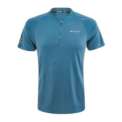 BABOLAT - PERFORMANCE - Polo Homme parisian blue/silver