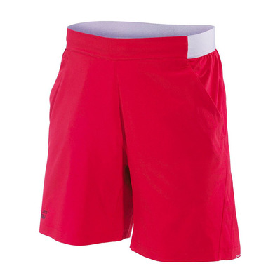BABOLAT - PERFORMANCE XL - Short Garçon salsa/black