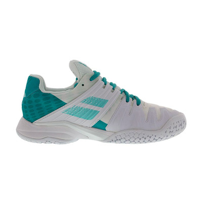 BABOLAT - PROPULSE FURY ALL COURT 2019 - Chaussures tennis Femme white/mint green