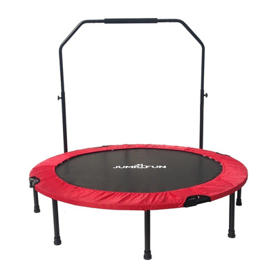 JUMP4FUN - DOUBLE-BAR 122cm - Mini-trampoline fitness bar rouge