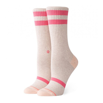 STANCE - CLASSIC UNCOMMON CREW - Chaussettes Femme heatherpink