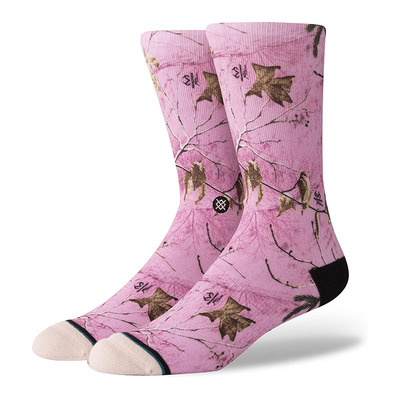 STANCE - REAL TREE CAMO - Chaussettes Homme pink