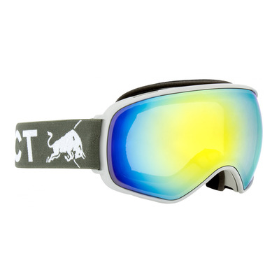 RED BULL SPECT - Red bull ALLEY - Gafas de esquí light grey/white/yellow