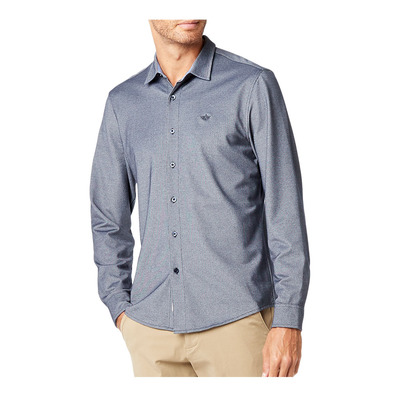 DOCKERS - 360 ULTIMATE BUTTON UP - Camisa hombre sargasso sea