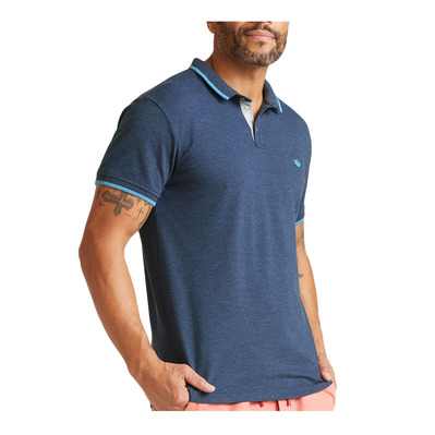 DOCKERS - 360 VERSATILE - Polo hombre estate blue