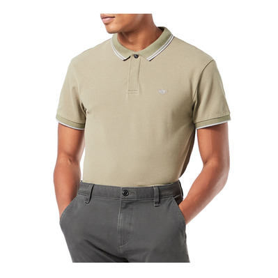 DOCKERS - 360 VERSATILE - Polo hombre fatigue olive