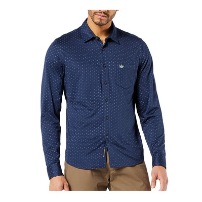 DOCKERS - ALPHA 360 BUTTON UP - Camisa hombre harrelson /pembroke