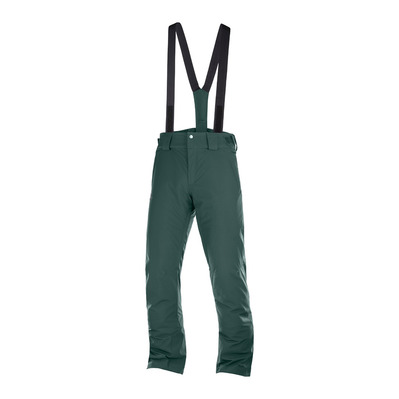 SALOMON - STORMSEASON - Pantalon ski Homme green gables